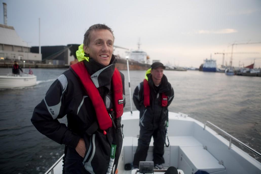 Ekspedisjonsleder Didric Knutsen er fornøyd med å ha gjennomført første etappe på en vellykket måte