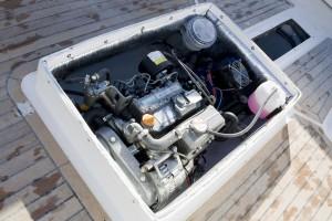 Yanmar 3YM30 i kombinasjon med el-motor skaper Skager hybrid